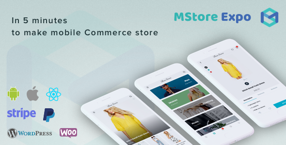 Mstore Expo - Complete React Native template for e-commerce - CodeCanyon Item for Sale