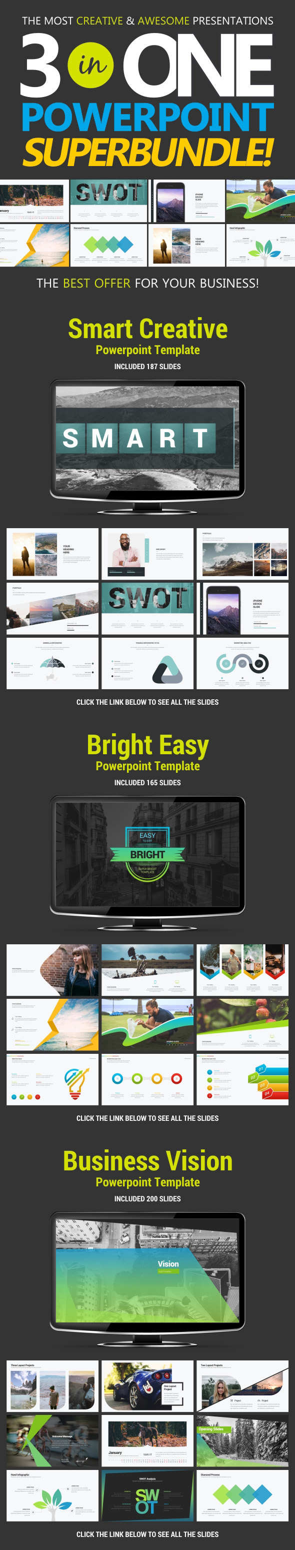 Business Bundle vol.1 - Business PowerPoint Templates