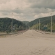 The Bridge Over the River Yenisei - VideoHive Item for Sale