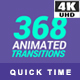 368 Transitions 4K - VideoHive Item for Sale