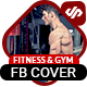 Fitness & Gym Facebook Cover Timeline