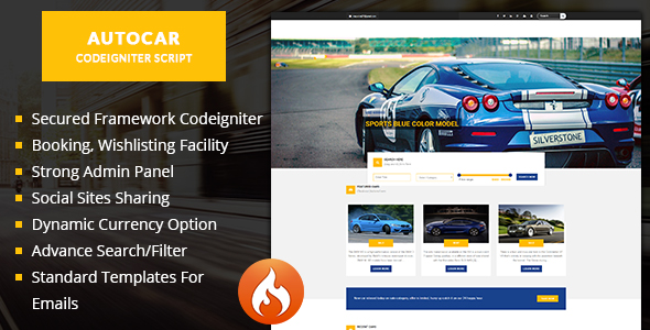Auto car - Car listing script car dealer script - CodeCanyon Item for Sale