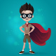 Superhero Happy Child - GraphicRiver Item for Sale