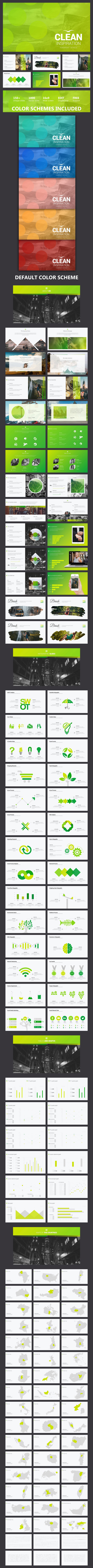 Clean Inspiration - Business PowerPoint Templates