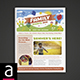 Family Events Newsletter - GraphicRiver Item for Sale