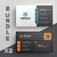 Business Card Bundle 37 - GraphicRiver Item for Sale
