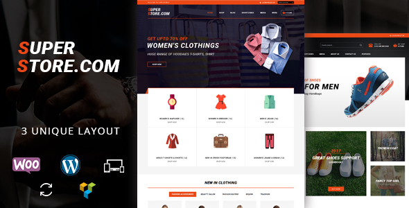 Super Store – Multipurpose WooCommerce Theme (WooCommerce) images