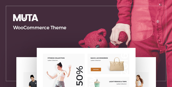 Muta - Clean, Multi-Purpose Responsive WooCommerce WP Theme