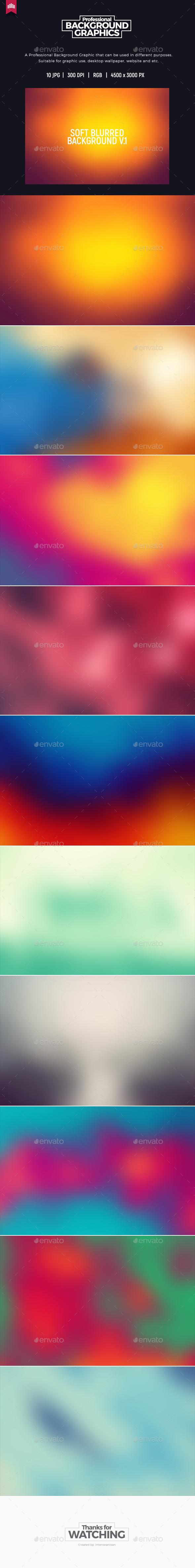 GraphicRiver Soft Blurred V.1 Background 20245231