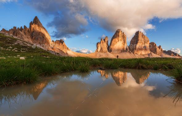 Tre Cime di Lavaredo - Stock Photo - Images