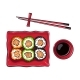 Plate of Japanese Sushi - GraphicRiver Item for Sale
