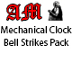 Mechanical Clock Bell Strikes Pack