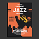 Jazz Music Fest Flyer Template - GraphicRiver Item for Sale