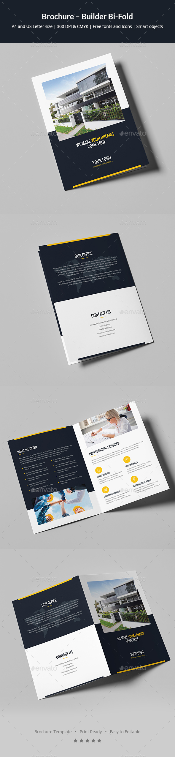 Brochure – Builder Bi-Fold - Corporate Brochures