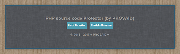 PHP source code protector (Php Obfuscator) (Help and Support Tools) images