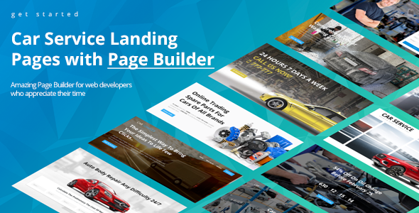 Avados - Car Service Landing Pages with Page Builder