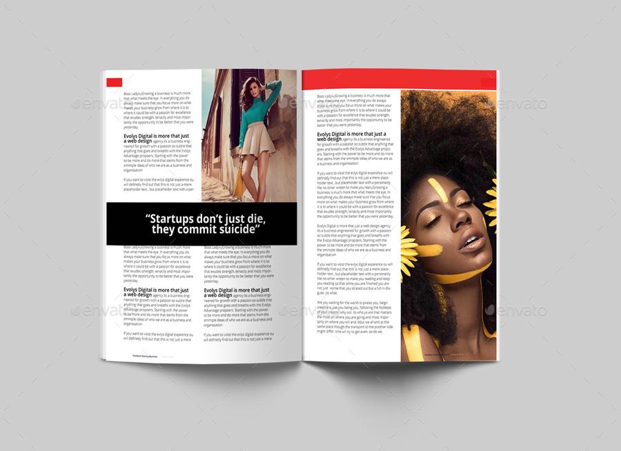 Newburn startup business magazine design template layout by 10newburn startup business magazineg flashek Choice Image