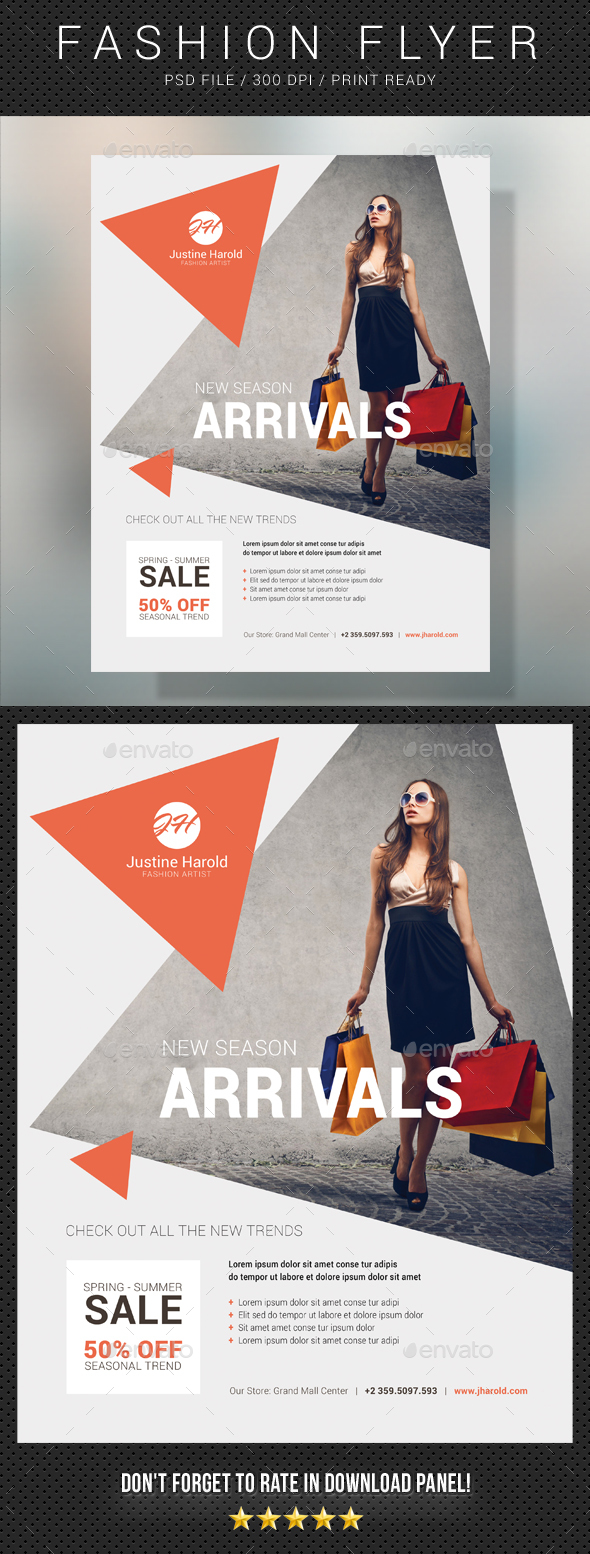 Fashion Flyer 10 - Commerce Flyers