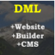 DML Online Website Builder and CMS