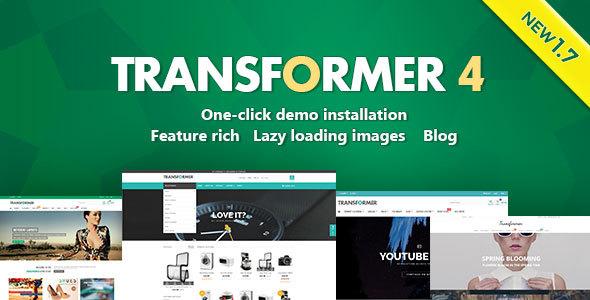 Transformer Responsive Prestashop Theme