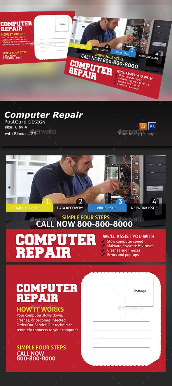 Computer Repair - Flyers Print Templates