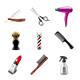 Barber Set - GraphicRiver Item for Sale