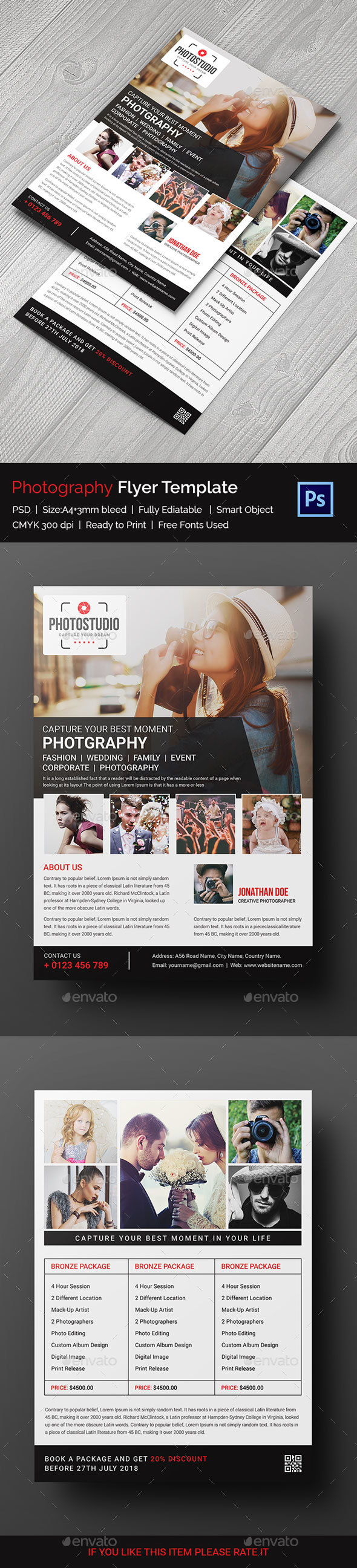 Photography Flyer - Print Templates