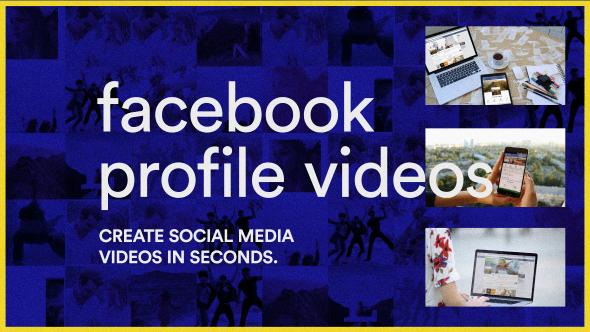 VideoHive Facebook Profile Videos 20247240