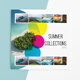 Summer Collection Album 8 Pages - GraphicRiver Item for Sale