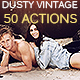 Dusty Vintage - 50 Workflow Actions - GraphicRiver Item for Sale