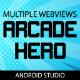 Arcade Hero - Multi Webview HTML5 Gamestore (AdMob & Firebase)