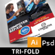 Computer Repair Trifold - GraphicRiver Item for Sale