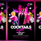 Cocktails Night Flyer - GraphicRiver Item for Sale