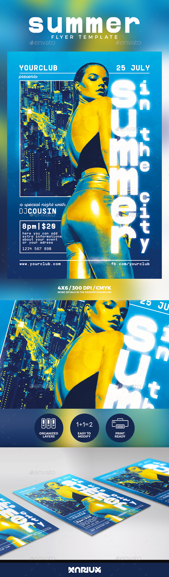 Summer City Flyer - Events Flyers