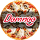 Domnoo Pizza & Restaurant PSD Template Nulled
