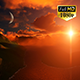 Fly Over Mountains During Sunset - VideoHive Item for Sale