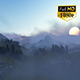 Fly Over Mountains During Sunset 2 - VideoHive Item for Sale
