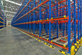 Pallet storage racking system for storage distribution center