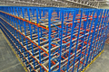 Warehouse  shelving  storage, metal, pallet racking system