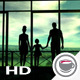 Silhouettes Of A Happy Family - VideoHive Item for Sale