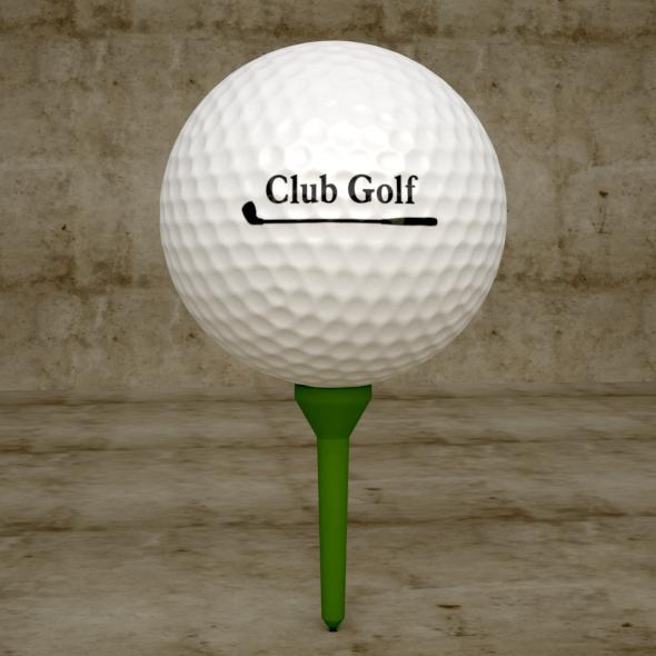3DOcean Golf Ball 20248342