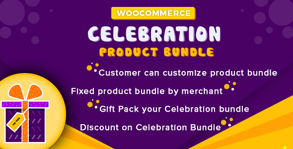 WooCommerce Celebration Product Bundle - CodeCanyon Item for Sale