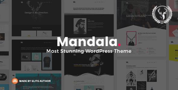 Mandala | Portfolio WordPress Theme Multi-Concept - Portfolio Creative