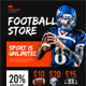 Sport Shop Flyer Templates