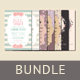 Bridal Shower Invitation Bundle - GraphicRiver Item for Sale