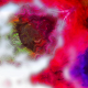 Watercolor Space Flowers Transitions 4K