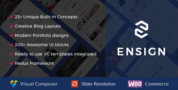 Ensign – An Ultimate Startup Development Theme (Creative) images