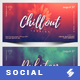 Electronic Music Party vol.25 - Facebook Post Banner Templates - GraphicRiver Item for Sale