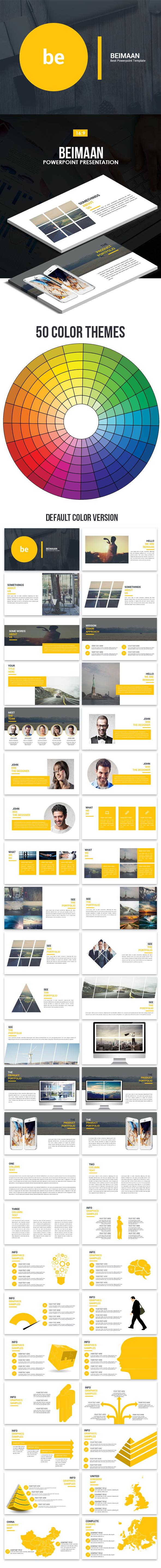 Beimaan Powerpoint Presentation Template - Business PowerPoint Templates