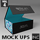 Retail Boxes Vol.4: Magnetic Box Packaging Mock Ups - GraphicRiver Item for Sale